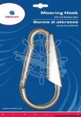 Boat hook with stainless steel bayonet