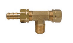 HYD BLEED T CONNECTOR MALE 3/8