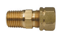 HYD CONNECTOR STRAIGHT MALE STUD 3/8