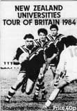 N.Z. UNIVERSITIES TOUR OF BRITAIN 1984