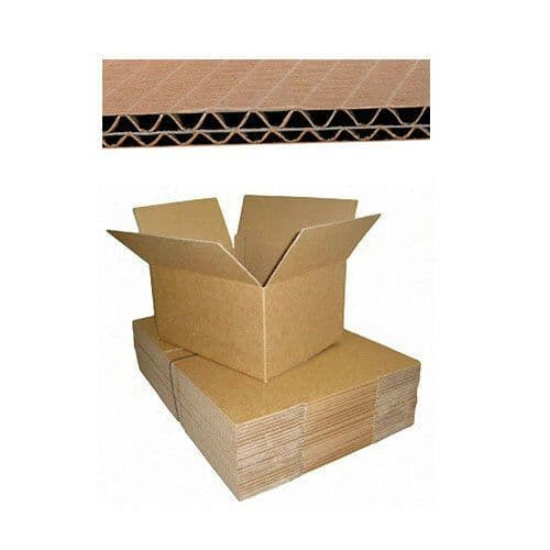 """15 x Strong Cardboard Double Wall Storage Packing Moving Boxes 18"""" x 12"""" x 12"""""""