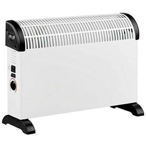 2kw Electric Convector Heater 3 Heat Settings Portable Safe Conservatory Heaters
