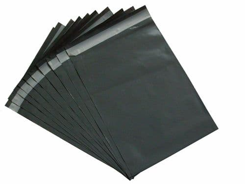 50 STRONG Grey Mailing Postal Parcel Package Mail Bags 12 x 16 inch (305x405 mm)