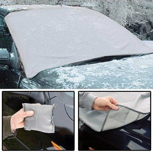 Deluxe Magnetic Anti Frost Ice Snow or Sun Car Windshield Windscreen Cover