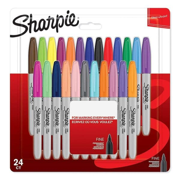 NEW Sharpie Pens 24 Pack Fine Permanent Markers Limited Edition Set