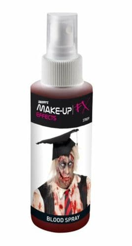 Smiffys Halloween Party Gory Spray Blood Make Up - Really Realistic Horror Blood
