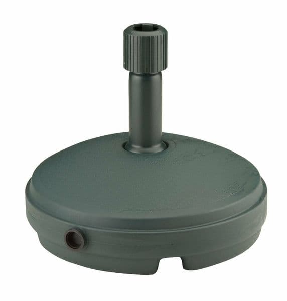 Ward Plastic Round Robust Patio Garden Parasol Base 33cm Fill With Water or Sand