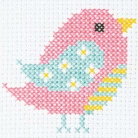 1st Cross Stitch Kit - 10 x 10 cm