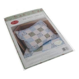 Blue Quilted Cushion Kit