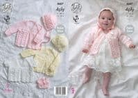 King Cole Baby 2ply, 3ply & 4ply Patterns