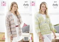King Cole Ladies Chunky Patterns
