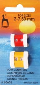 Pony Row Counter 2mm-7.50mm