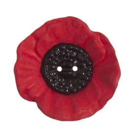 Poppy Button: 2 Hole: 41mm