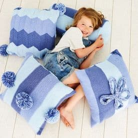 Special Candy Swirl DK Pattern 9412 Cushions & Bolster