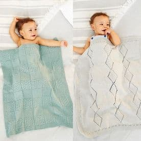 STYLECRAFT BLANKETS PATTERN KNITTED WITH BAMBINO DK 9531