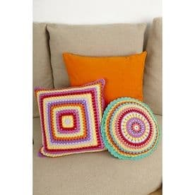 Stylecraft Crochet Cushions Pattern 8851