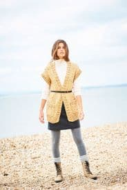 Stylecraft Ladies Cardigan & Waistcoat Pattern Knitted in Super Chunky 9888