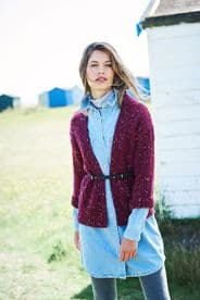 Stylecraft Ladies Jacket Pattern Knitted in Special Aran with Wool 9891