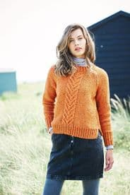 Stylecraft Ladies Sweaters Pattern Knitted in Special Aran with Wool 9890