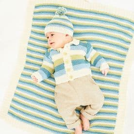 Stylecraft Naturals Bamboo+Cotton DK Babies Pattern 9831