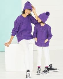 Stylecraft Sweater & Hat Knitted in Special DK 9767