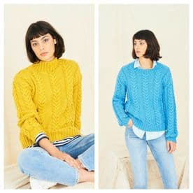 Stylecraft Sweaters Knitted in Special Aran 9768