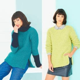 Stylecraft Sweaters Pattern Knitted in Special XL Super Chunky 9787