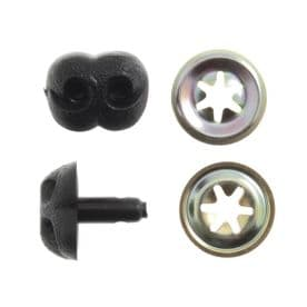 Trimits Toy Noses: Animal/Dog: 20mm: Black: Pack of 4