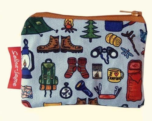 Selina-Jayne Camping Limited Edition Designer Coin Purse