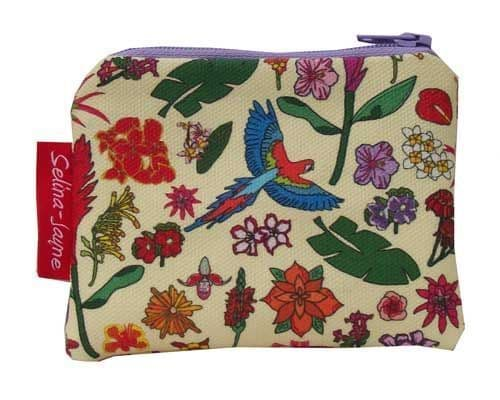 Selina-Jayne Tropical Flowers Limited Edition Designer Coin Purse