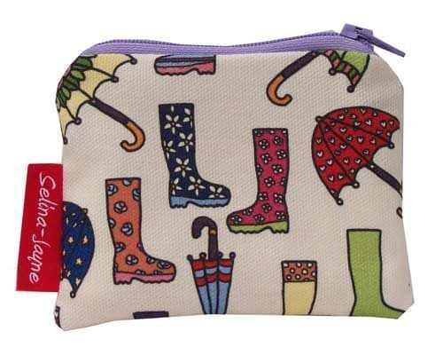 Selina-Jayne Wellies and Brollies Limited Edition Designer Coin Purse