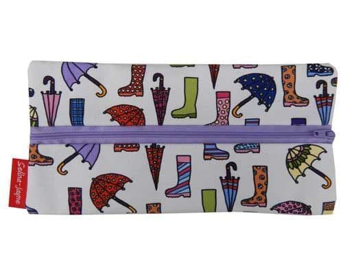Selina-Jayne Wellies and Brollies Limited Edition Designer Pencil Case