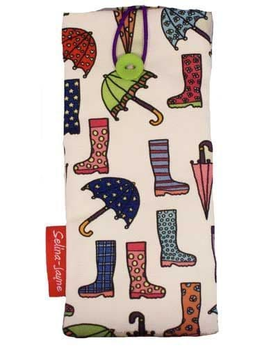 Selina-Jayne Wellies and Brollies Limited Edition Designer Soft Glasses Case