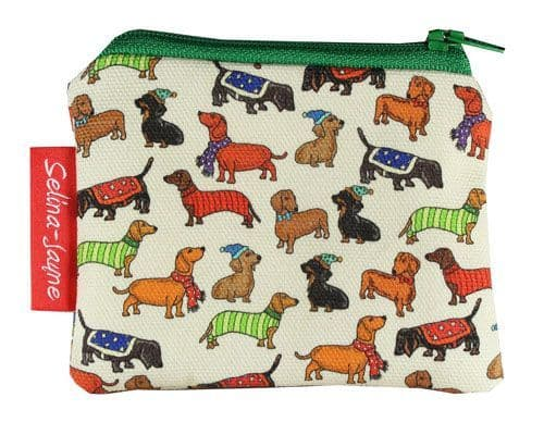 Selina-Jayne Dachshunds Limited Edition Designer Coin Purse