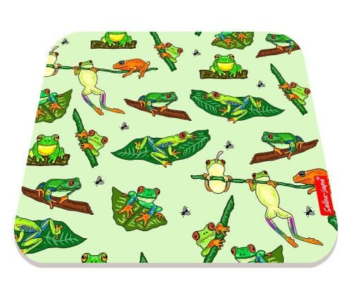 Selina-Jayne Frogs Limited Edition Designer Mouse Mat