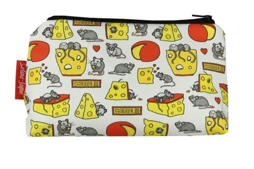 Selina-Jayne Mouse and Cheese Limited Edition Designer Cosmetic Bag