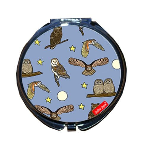 Selina-Jayne Owls Limited Edition Compact Mirror