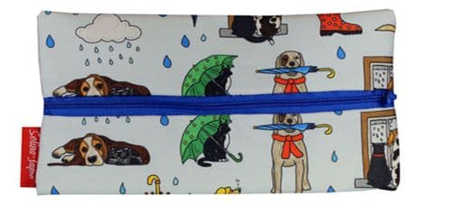 Selina-Jayne Raining Cats and Dogs Limited Edition Designer Pencil Case