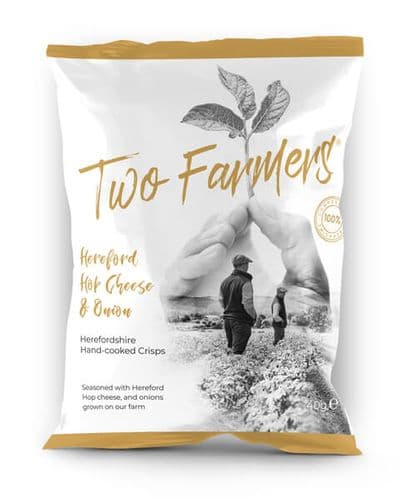 Hereford Hop Cheese & Onion Crisps 40g