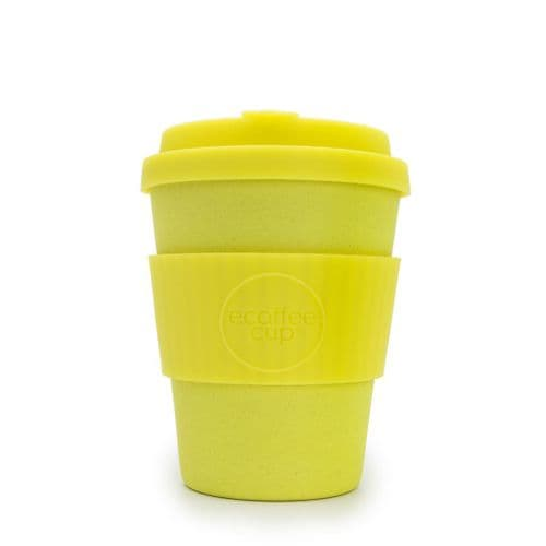 12oz I Am Yellow Reusable Takeaway Cup