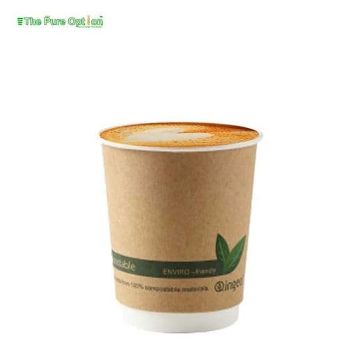 8oz Double Wall Hot Cups