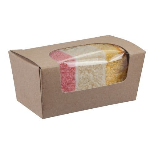 Kraft Small Compostable Cake Box