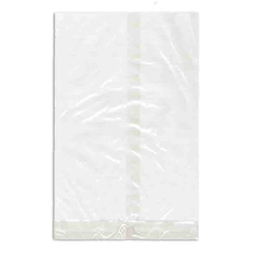 """No12 Large Clear Natureflex Sealable Bags (12x5"""")"""