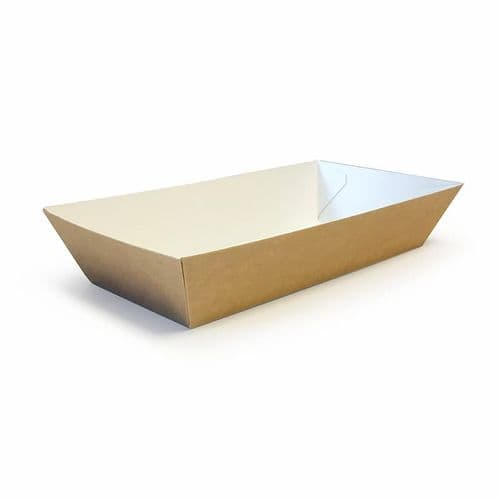 """No9 Compostable Disposable Food Trays (9x3"""")"""