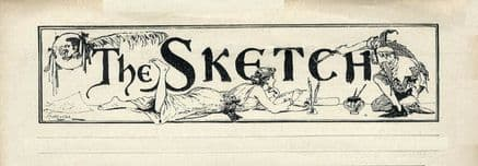 1893 SKETCH Magazine JANETTE STEER Dahomeyan Troupe MAUD HOBSON Divers (8300)