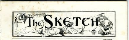 1894 THE SKETCH Magazine LILY HANBURY Slave Trading HARRY IRVING Minnie Terry VICTORIAN (8500)