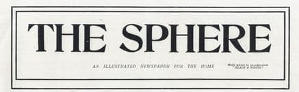 1914 THE SPHERE Newspaper LORD STRATHCONA Panama MAKEN HOLLAND A7 Submarine SAN FRANCISCO EXHIBITION (2370)