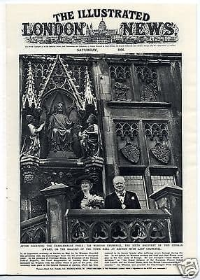 1956 ILLUSTRATED LONDON NEWS NEWSPAPER New Guinea Gold Mines RMS EMPRESS of ENGLAND