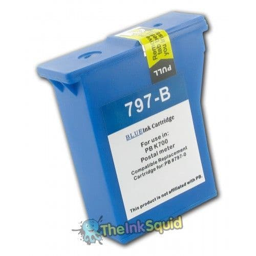 1 Chipped Compatible Franking PB797-0RN Ink