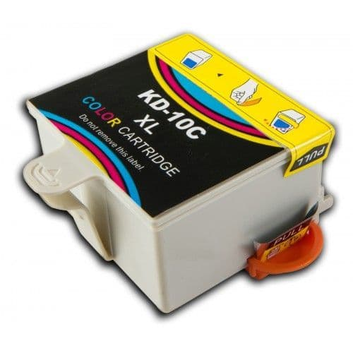 1 Chipped High-Capacity Compatible Kodak 10 Easyshare Colour K10C Ink Cartridge
